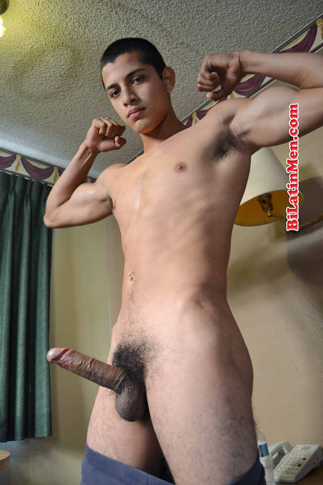 Latino men cock